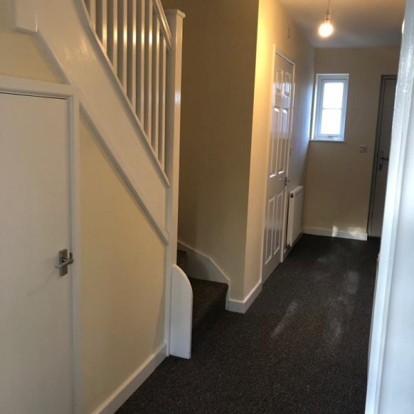Hallway in the latest community Interventions Supported Move on Home.